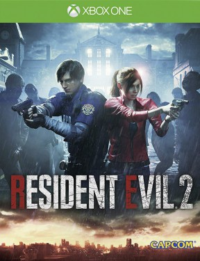 Resident Evil 2 Remake Xbox One Cover