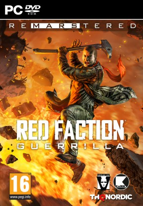 Red Faction Guerrilla Re-Mars-tered Edition PC Cover