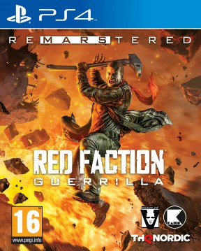 Red Faction Guerrilla Re-Mars-tered Edition PS4 Cover
