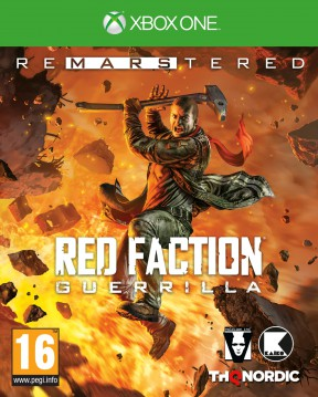 Red Faction Guerrilla Re-Mars-tered Edition Xbox One Cover