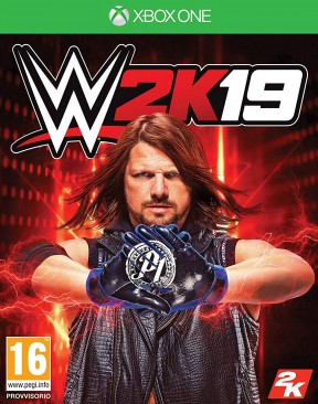 WWE 2K19 Xbox One Cover