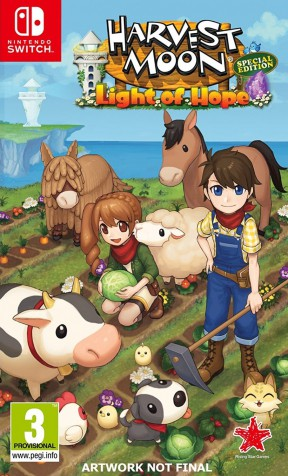 Harvest Moon: Light of Hope Special Edition Switch Cover
