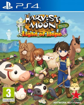 Harvest Moon: Light of Hope Special Edition PS4 Cover
