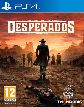 Desperados 3 PS4 Cover