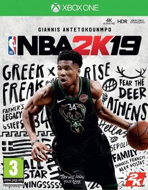 NBA 2K19 Xbox One Cover