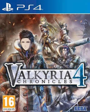 Valkyria Chronicles 4 PS4 Cover