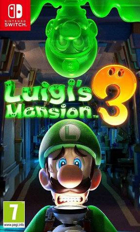 Luigi's Mansion 3 Switch Cover