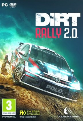 DiRT Rally 2.0 PC Cover
