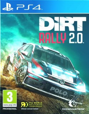 DiRT Rally 2.0 PS4 Cover