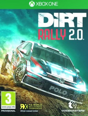 DiRT Rally 2.0 Xbox One Cover