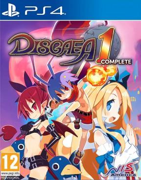 Disgaea 1 complete PS4 Cover