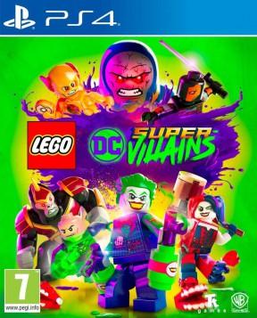 LEGO DC Super-villains PS4 Cover