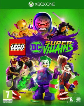 LEGO DC Super-villains Xbox One Cover