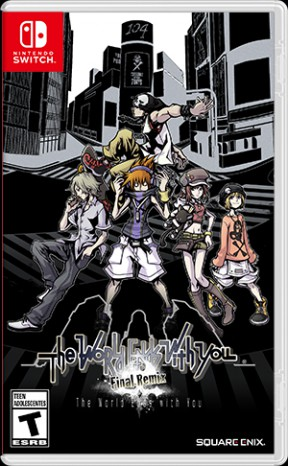 The World Ends With You: Final Mix Switch Cover