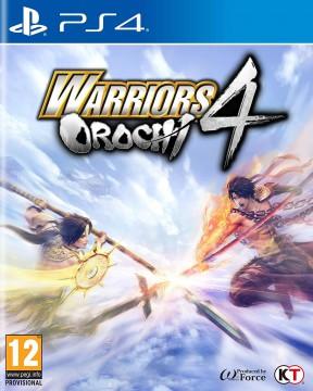 Warriors Orochi 4 PS4 Cover