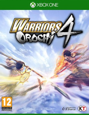 Warriors Orochi 4 Xbox One Cover