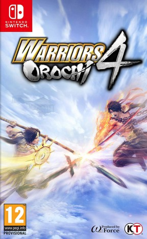 Warriors Orochi 4 Switch Cover