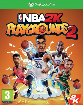 NBA 2K Playgrounds 2 Xbox One Cover