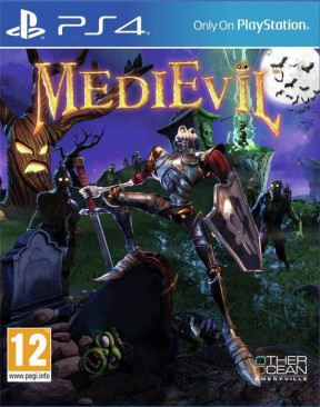 MediEvil Remake PS4 Cover