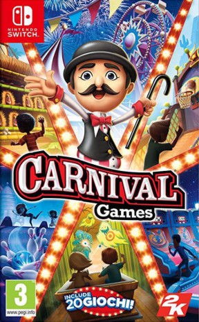 Carnival Games Switch Cover