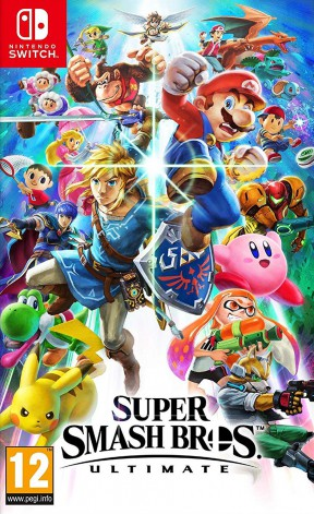 Super Smash Bros. Ultimate Switch Cover