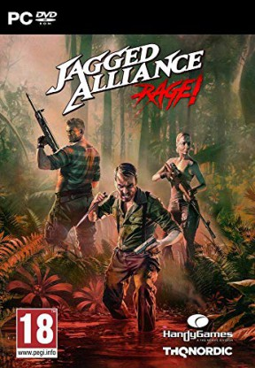 Jagged Alliance: Rage! PC Cover