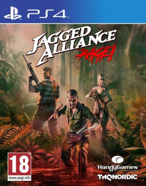 Jagged Alliance: Rage! PS4 Cover