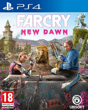 Far Cry New Dawn PS4 Cover