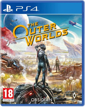 The Outer Worlds PS4 Cover