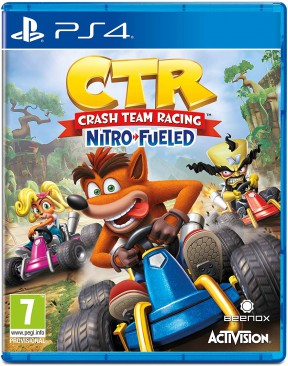 Crash Team Racing Nitro-Fueled PS4 Cover