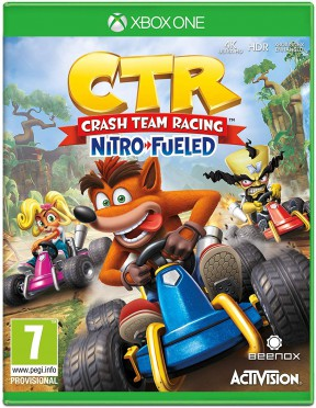 Crash Team Racing Nitro-Fueled Xbox One Cover
