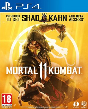 Mortal Kombat 11 PS4 Cover