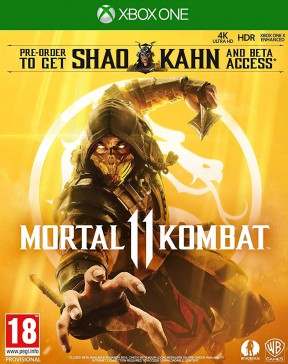Mortal Kombat 11 Xbox One Cover