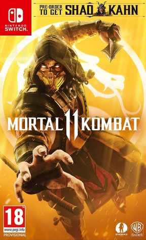 Mortal Kombat 11 Switch Cover