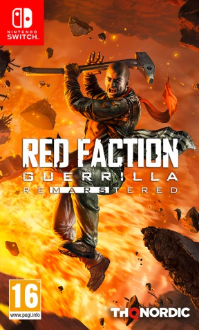 Red Faction Guerrilla Re-Mars-tered Edition Switch Cover