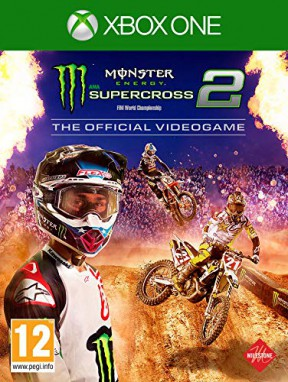 Monster Energy Supercross 2 Xbox One Cover