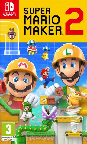 Super Mario Maker 2 Switch Cover