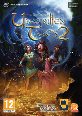 The Book of Unwritten Tales 2 PC Cover