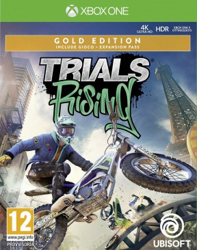 Trials Rising Xbox One Cover