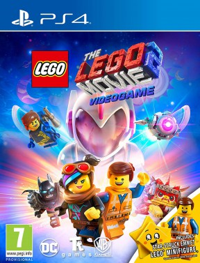 The LEGO Movie 2 Videogame PS4 Cover
