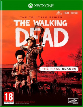 The Walking Dead: The Final Season Xbox One Cover