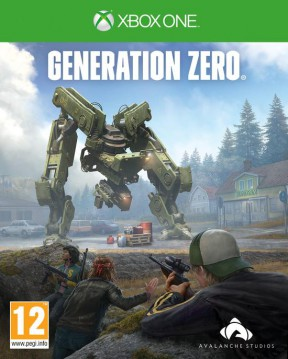 Generation Zero Xbox One Cover