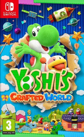 Yoshi's Crafted World Switch Cover