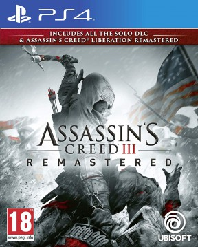 Assassin's Creed III Remastered PS4 Cover
