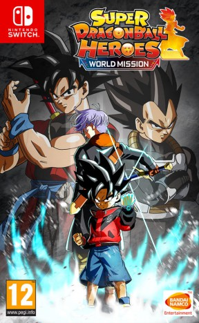 Super Dragon Ball Heroes: World Mission Switch Cover