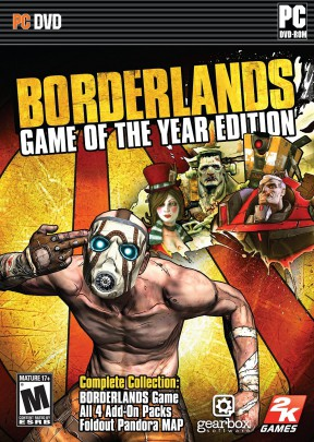 Borderlands Game of the Year Enhanced PC Cover