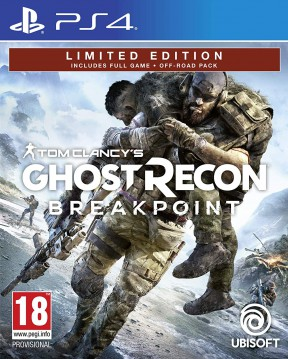 Ghost Recon Breakpoint PS4 Cover