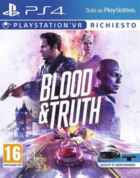 Blood & Truth PS4 Cover