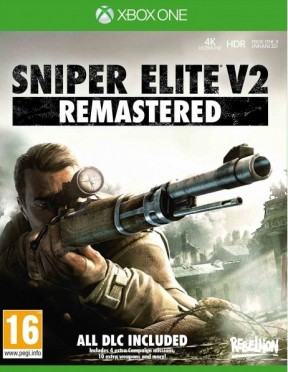 Sniper Elite V2 Remastered Xbox One Cover