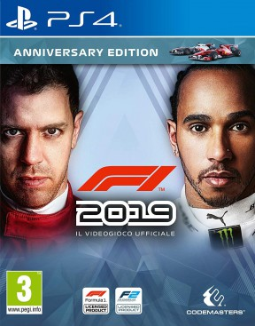 F1 2019 PS4 Cover